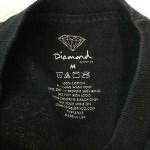 Diamond Supply Co. Shirts - Diamon Supply Co Yacht Club graphic tee (E3)